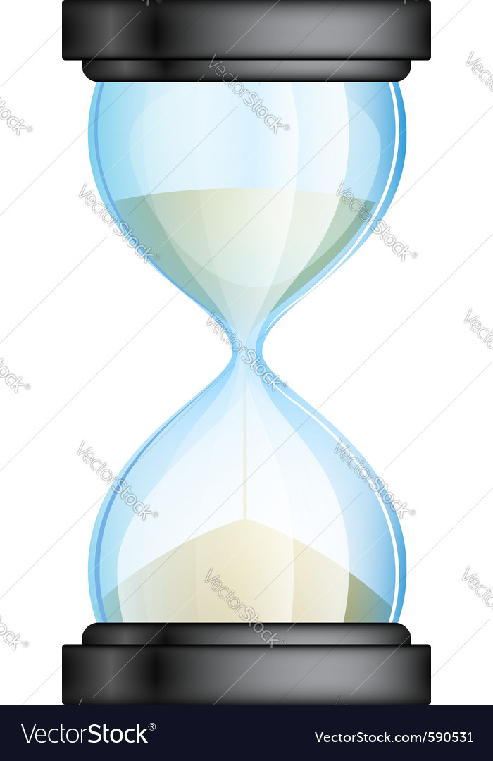 Hourglass vector | Price: 1 Credit (USD $1)