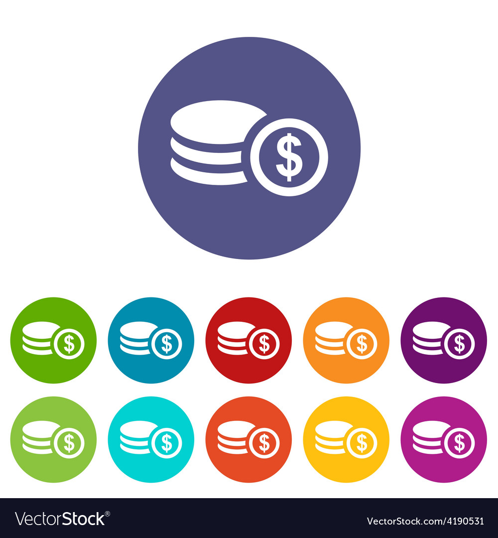 Money flat icon vector | Price: 1 Credit (USD $1)
