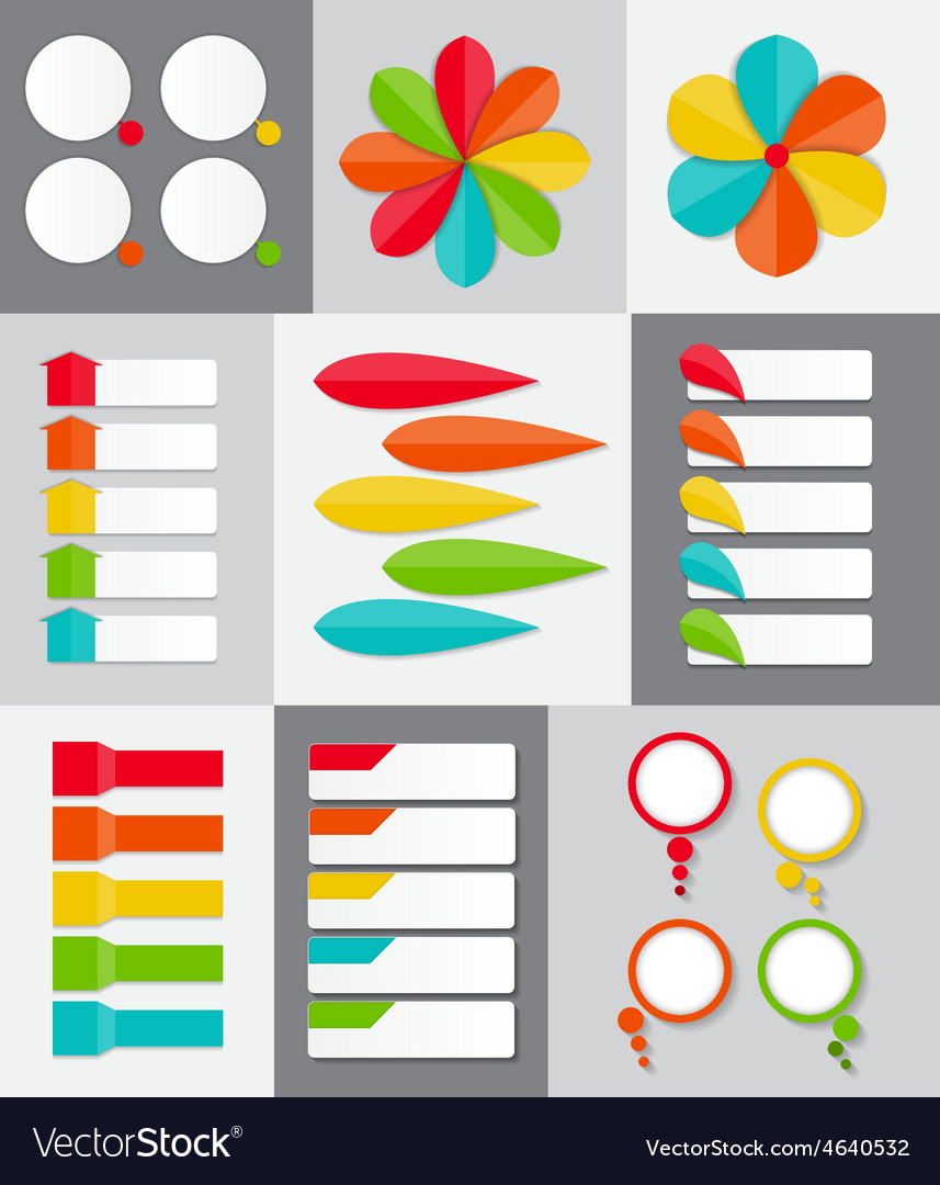 Big set of infographic banner templates for your vector | Price: 1 Credit (USD $1)