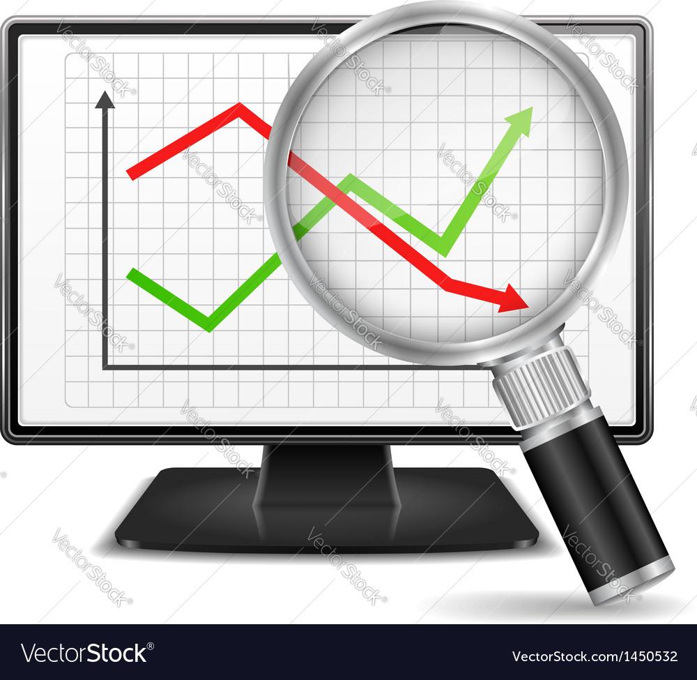 Chart vector | Price: 1 Credit (USD $1)