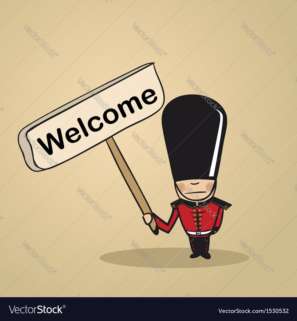Welcome to uk people vector | Price: 1 Credit (USD $1)