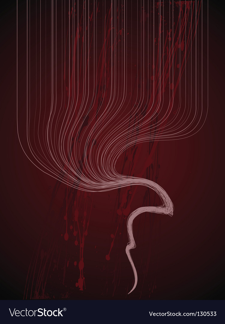 Abstract background red grunge vector | Price: 1 Credit (USD $1)
