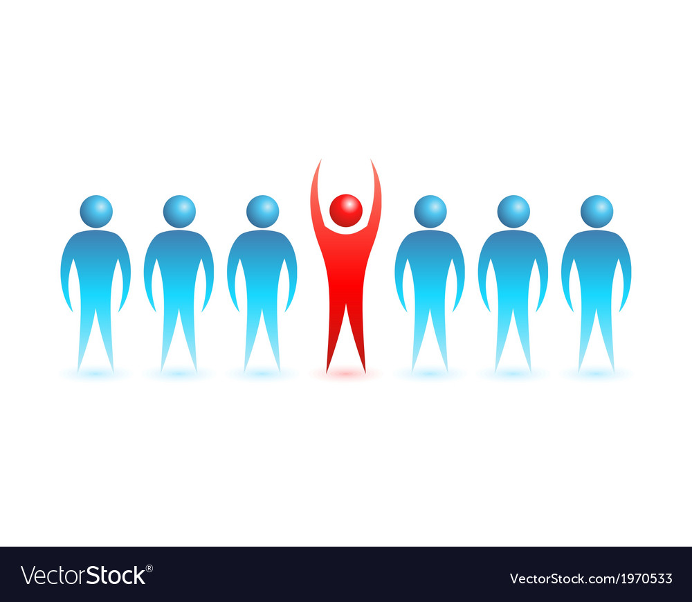 Business people concept vector | Price: 1 Credit (USD $1)