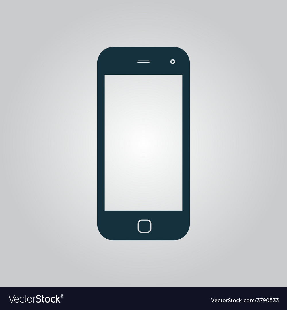 Mobile smartphone icon sign and button vector | Price: 1 Credit (USD $1)