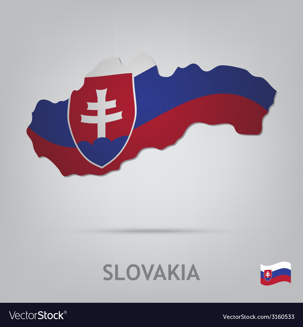 Slovakia vector | Price: 1 Credit (USD $1)