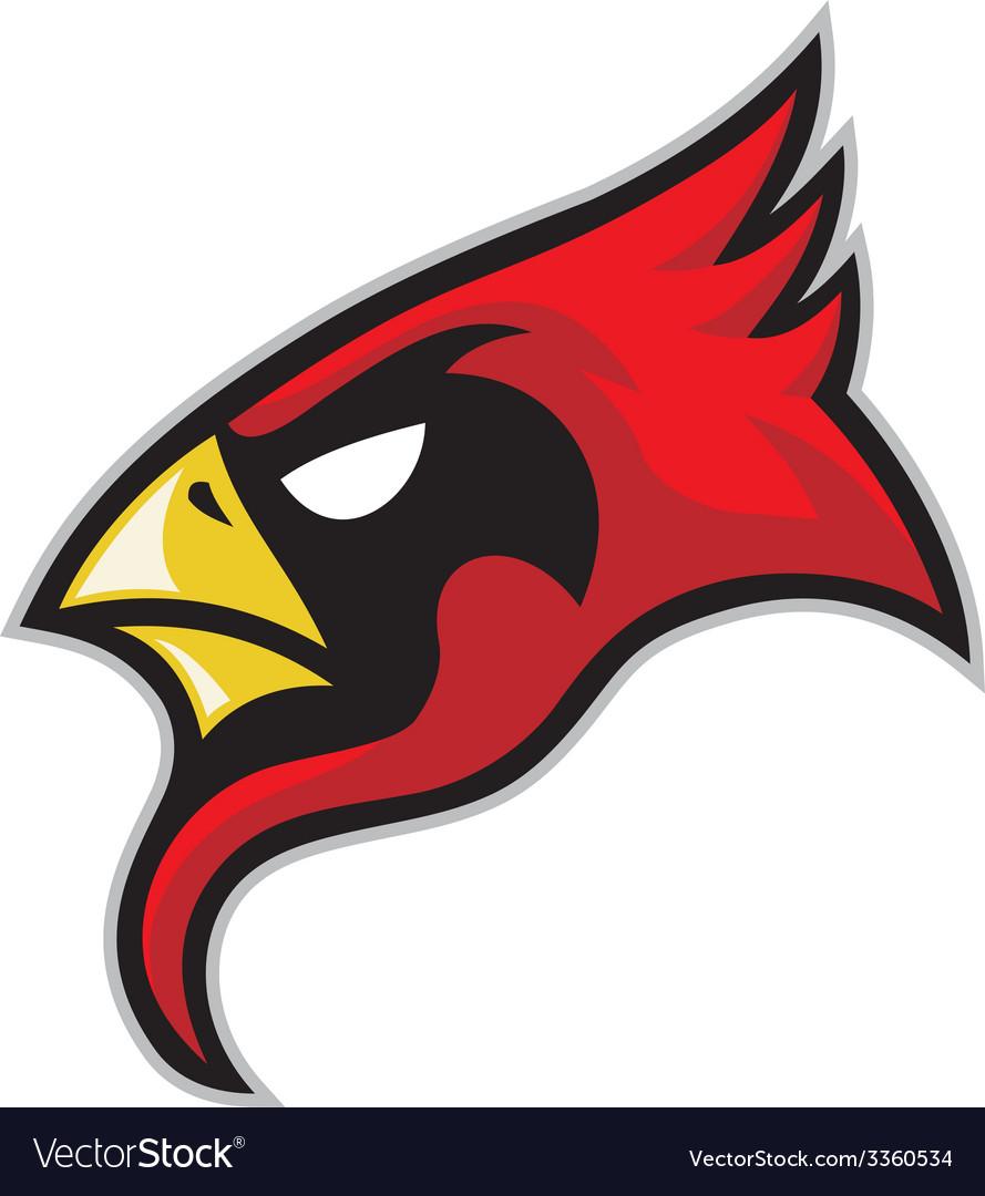 Cardinal head vector   Price: 3 Credit (USD $3)