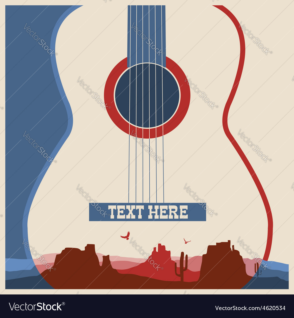 Concert poster of music festival vector | Price: 1 Credit (USD $1)