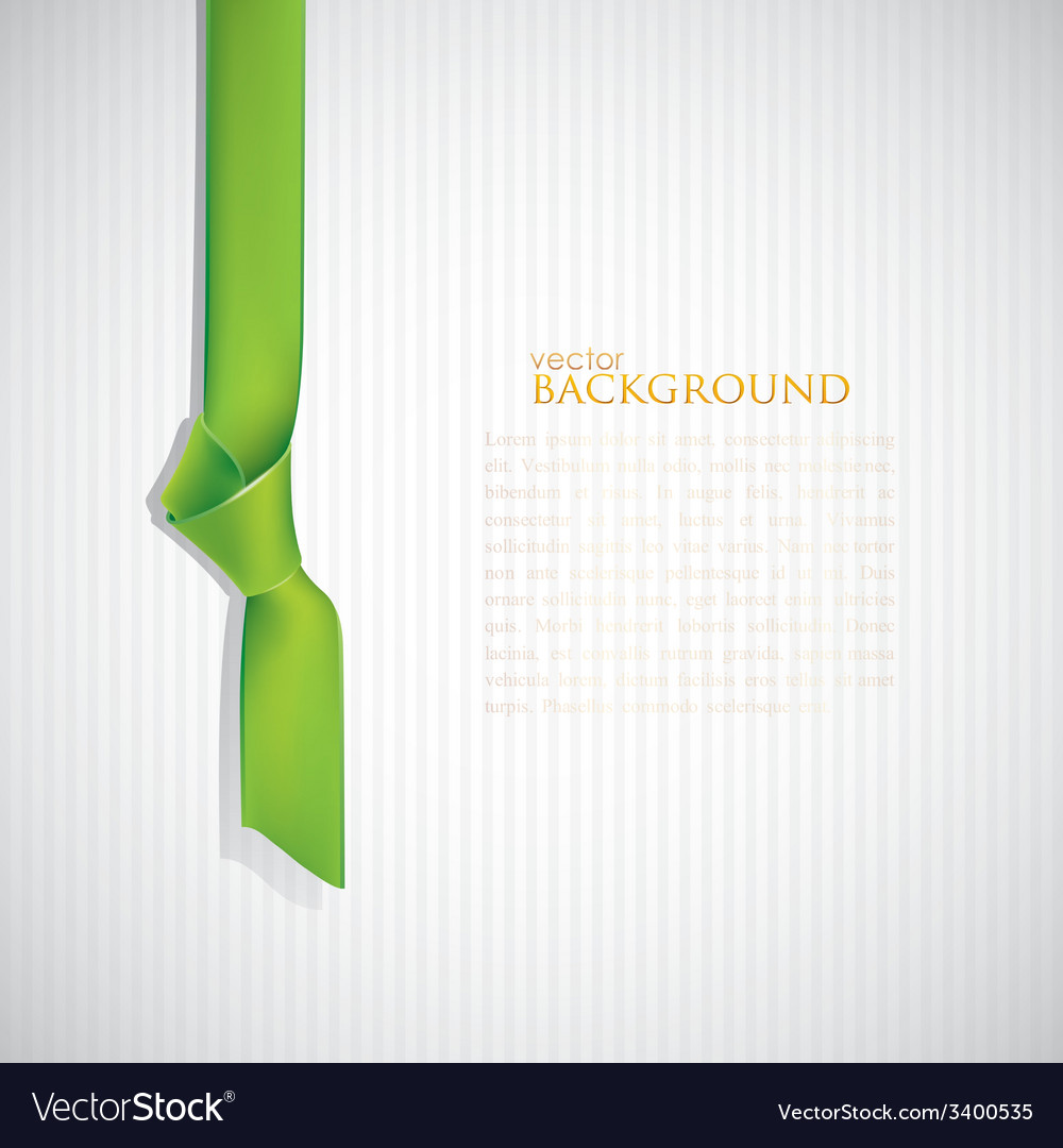 Abstract background with green bookmark vector | Price: 1 Credit (USD $1)