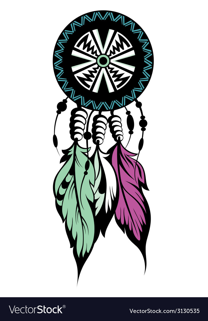 Dream catcher protection vector | Price: 1 Credit (USD $1)