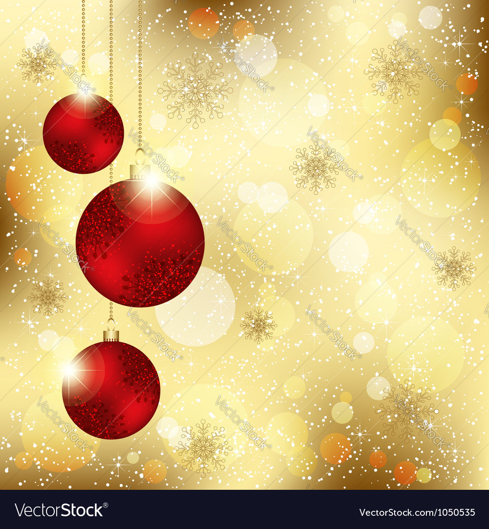 Sparkling christmas crystal ball vector | Price: 1 Credit (USD $1)