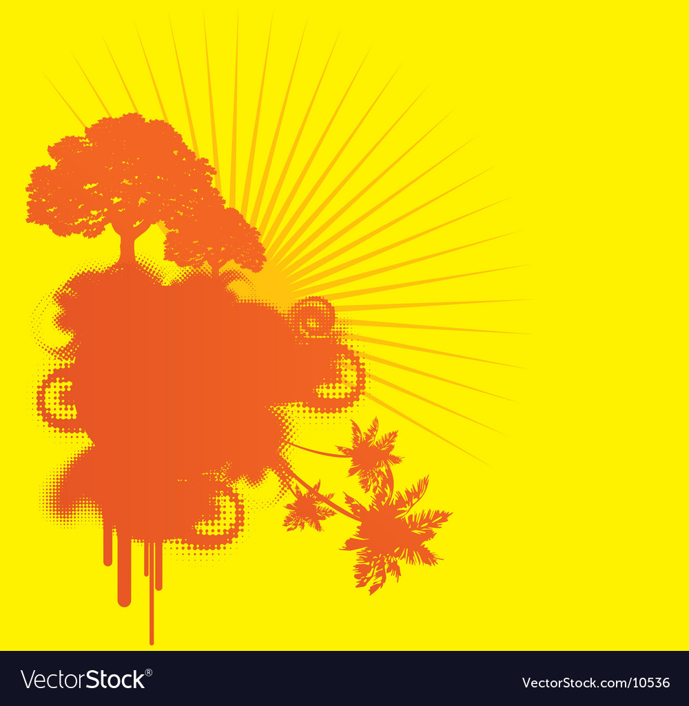 Yellow urban background vector | Price: 1 Credit (USD $1)