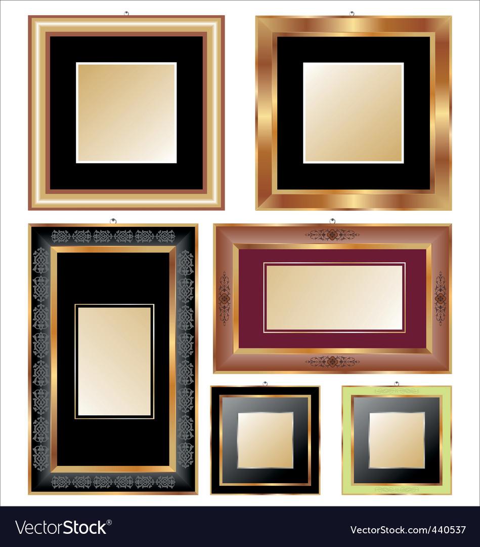 Frames set vector | Price: 1 Credit (USD $1)