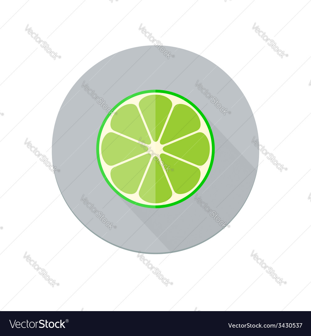 Lime icon vector | Price: 1 Credit (USD $1)