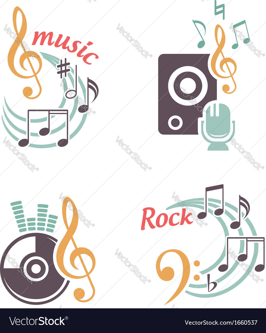 Music elements vector | Price:  Credit (USD $)