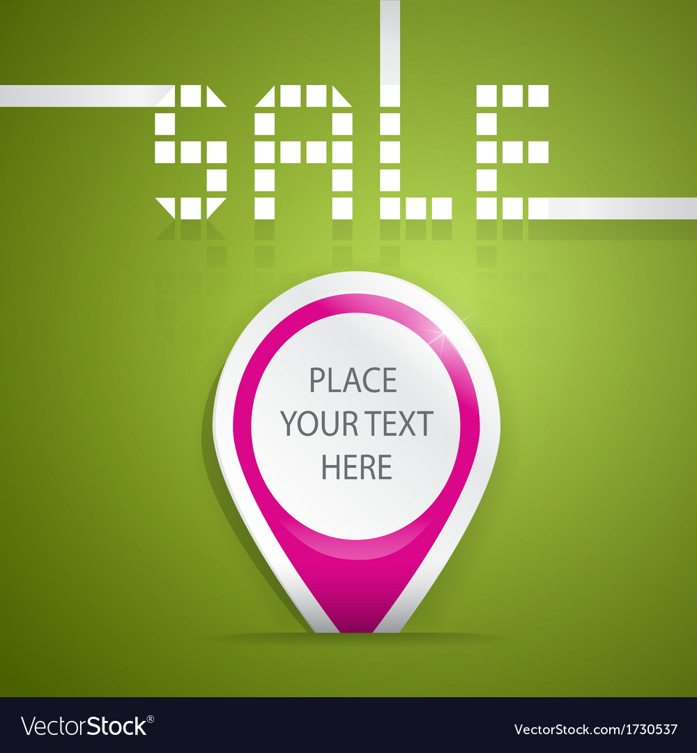 Sticker sale vector | Price: 1 Credit (USD $1)