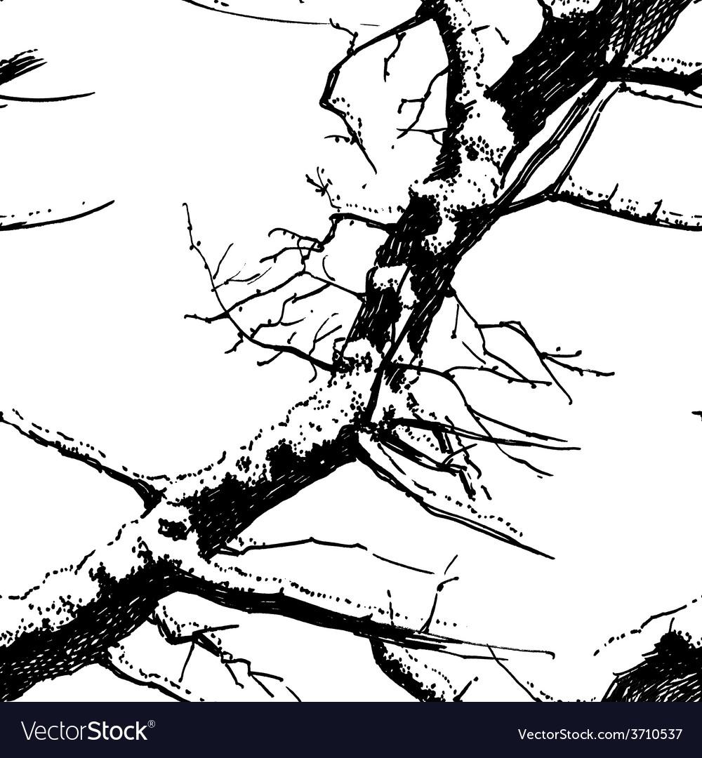 Winter tree vector | Price: 1 Credit (USD $1)