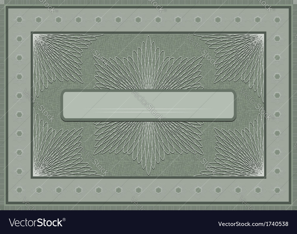 Frame with an openwork pattern vector | Price: 1 Credit (USD $1)