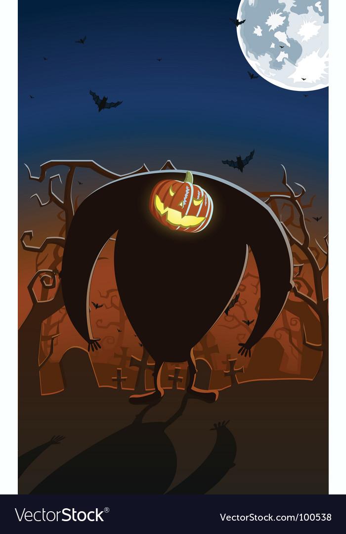 Jack-o-lantern vector | Price: 3 Credit (USD $3)