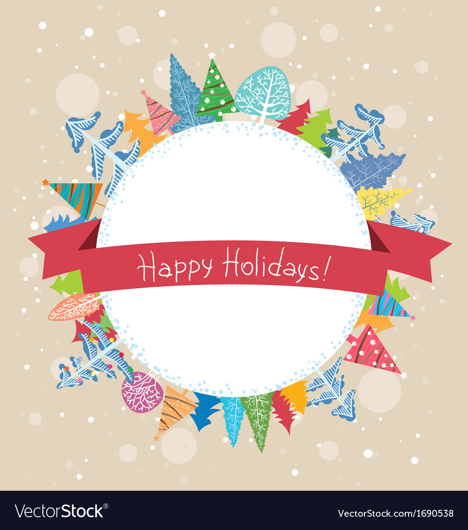 Winter holidays vector | Price: 1 Credit (USD $1)