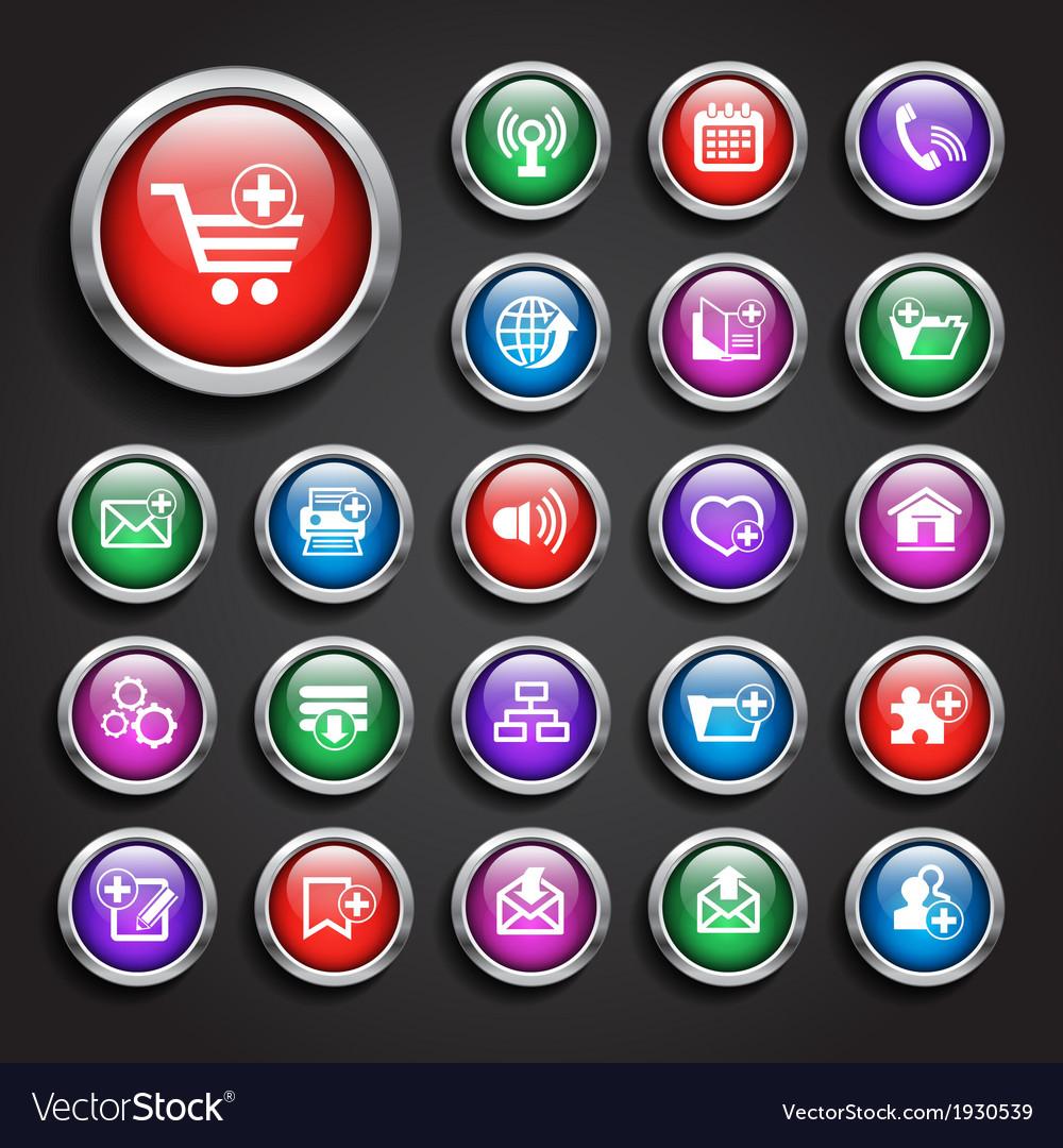 Web icon set vector   Price: 1 Credit (USD $1)