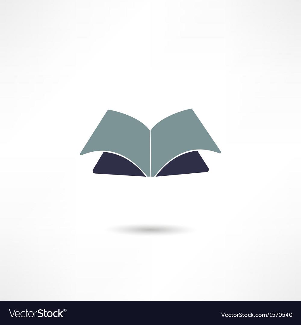 Book icon vector   Price: 1 Credit (USD $1)