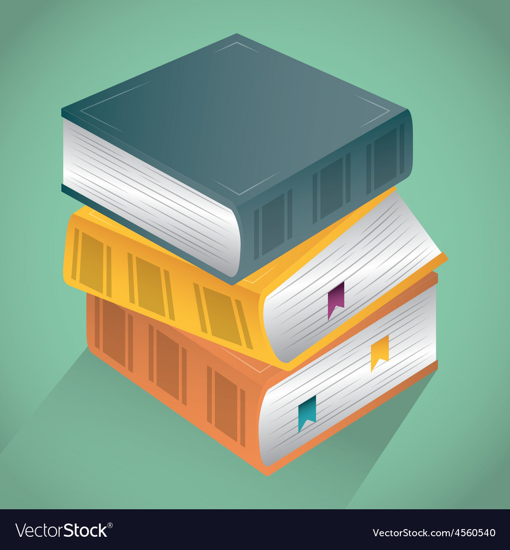 Books design vector | Price: 1 Credit (USD $1)