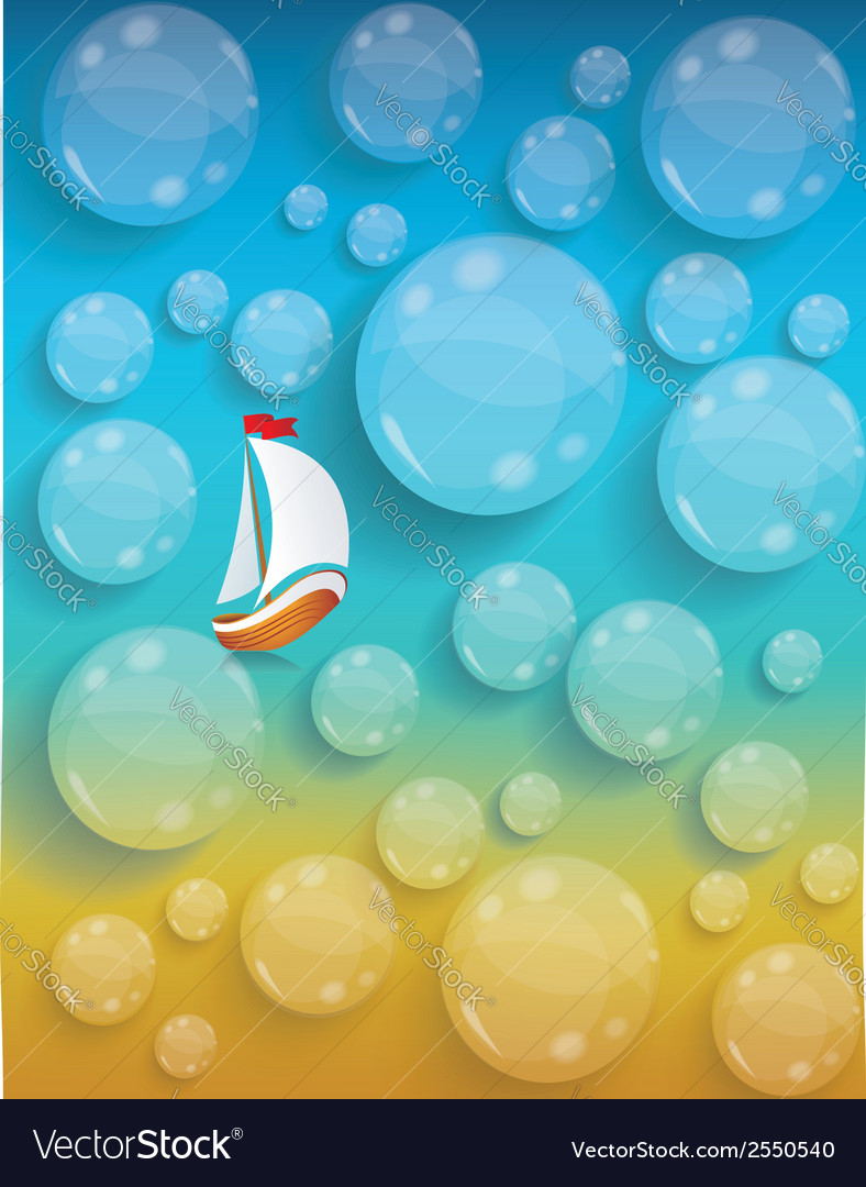 Transparent water drops background tourism and vector | Price: 1 Credit (USD $1)