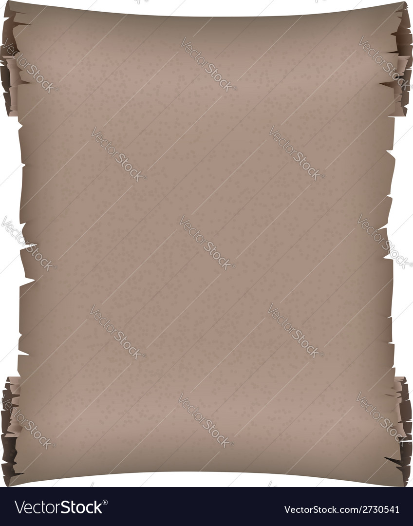 Dark ancient scroll vector | Price: 1 Credit (USD $1)