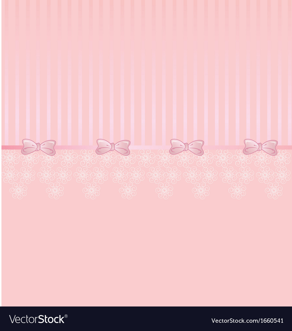 Pink cute lace vector | Price: 1 Credit (USD $1)