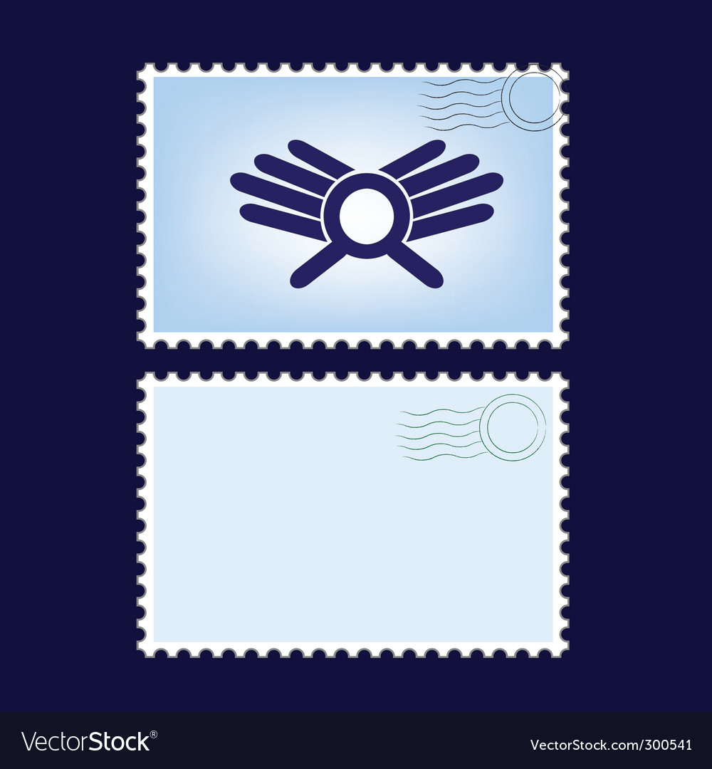 Post stamps vector | Price: 1 Credit (USD $1)
