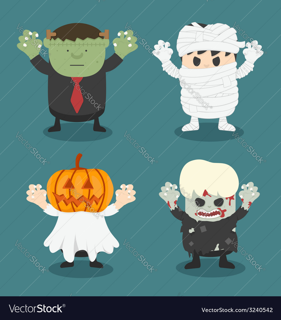 Halloweenfront set 2 vector | Price: 1 Credit (USD $1)