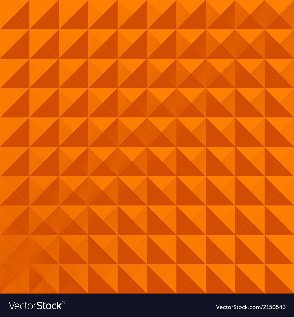 Geometric pattern orange simple vector | Price: 1 Credit (USD $1)