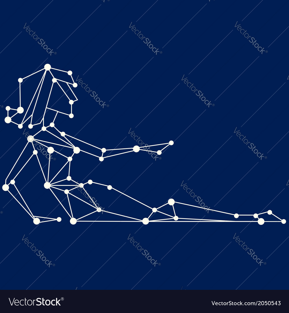 Virgo zodiac sign all signs available in portfolio vector | Price: 1 Credit (USD $1)