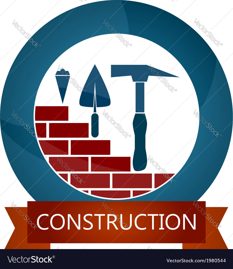 Design for construction vector | Price: 1 Credit (USD $1)