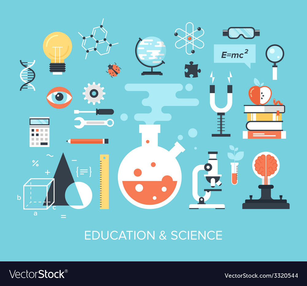 Education and science vector | Price: 1 Credit (USD $1)