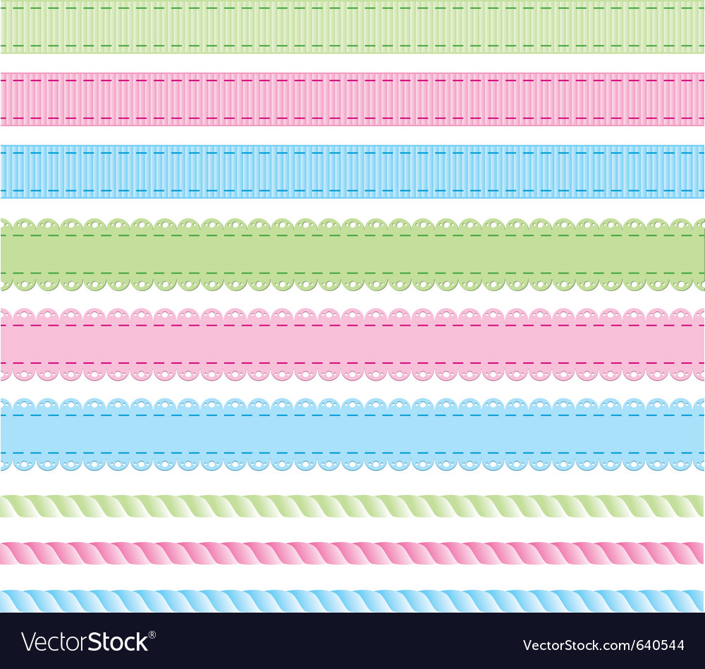 Set braids vector | Price: 1 Credit (USD $1)