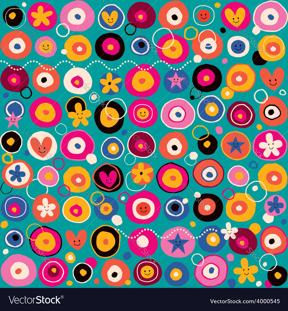 Fun pattern 3 vector | Price: 1 Credit (USD $1)