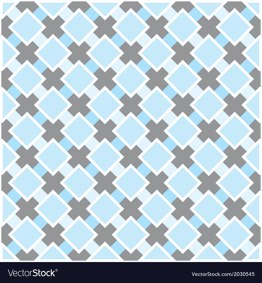 Sweet blue white and dark grey background plaid vector | Price: 1 Credit (USD $1)