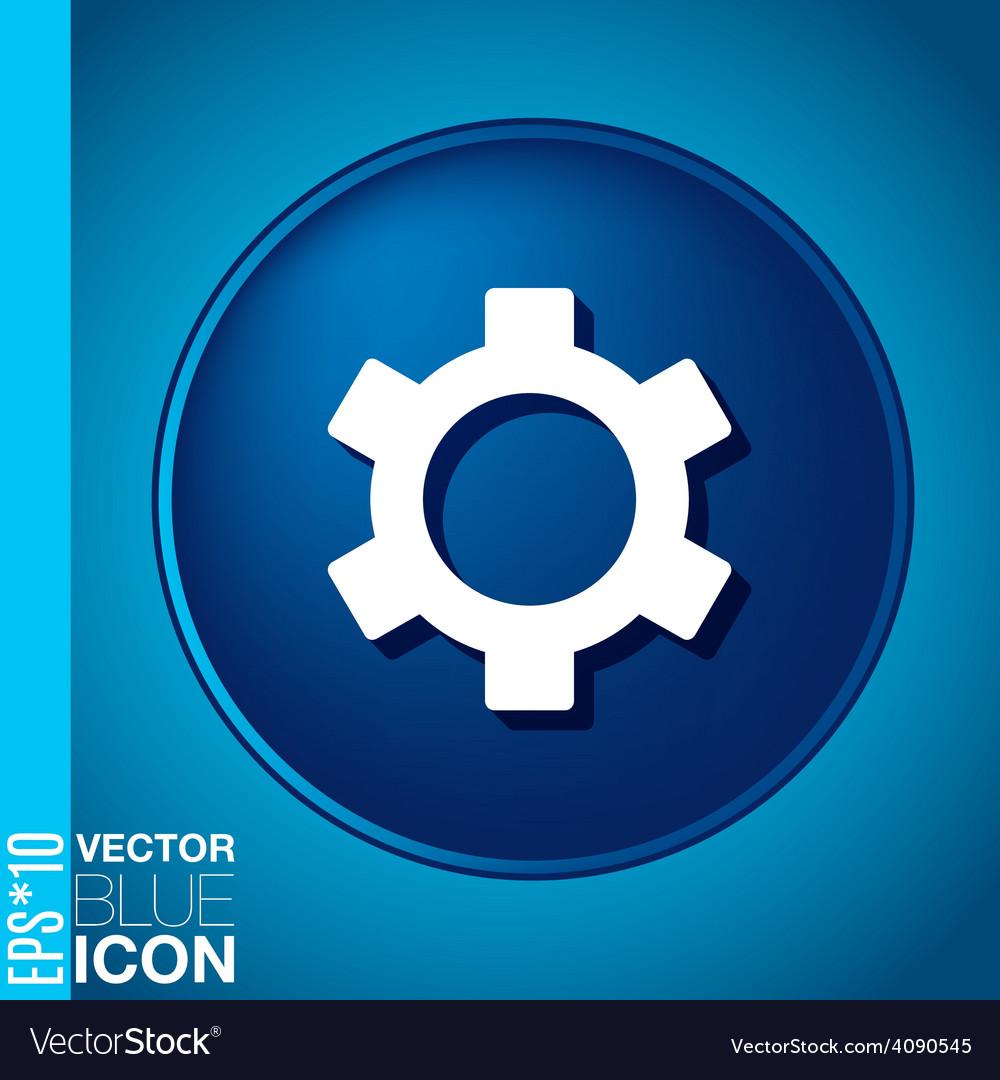 Symbol settings cogwheel icon setting and repair vector   Price: 1 Credit (USD $1)
