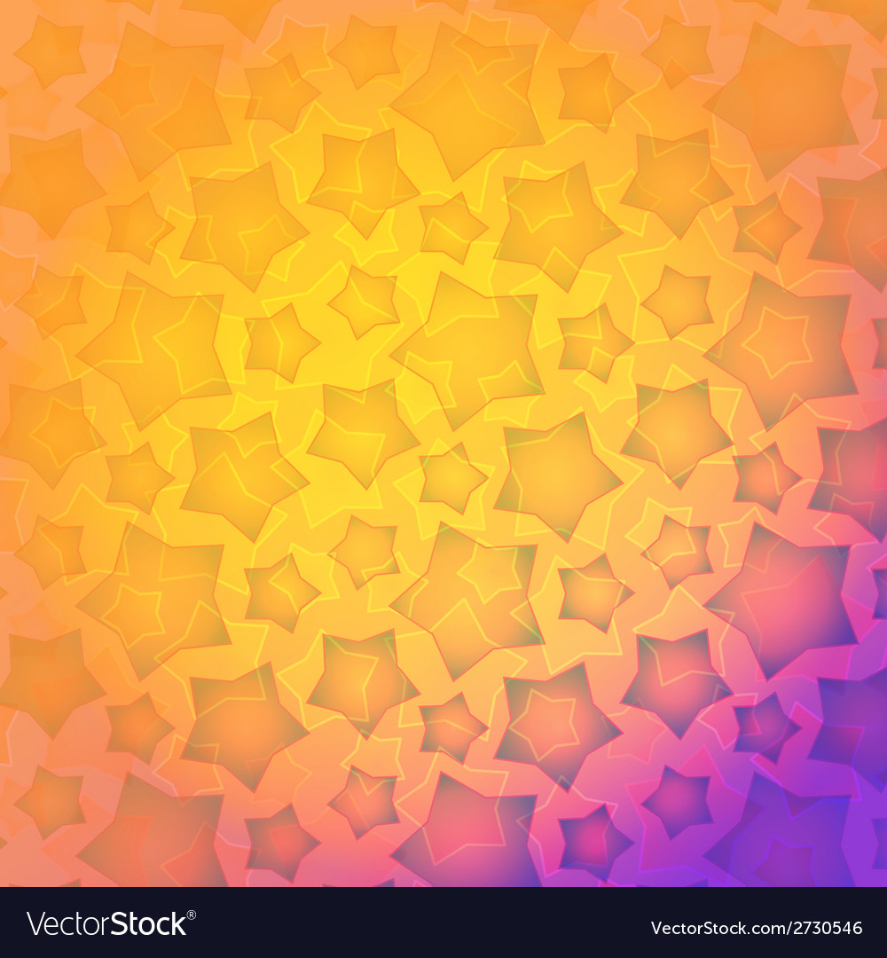 Colour burst background - with stars and vector | Price: 1 Credit (USD $1)