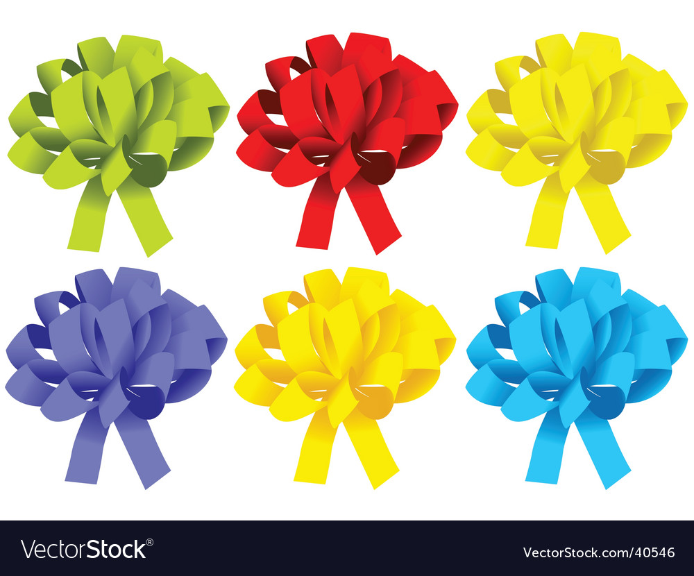 Gift box ribbon vector | Price: 1 Credit (USD $1)