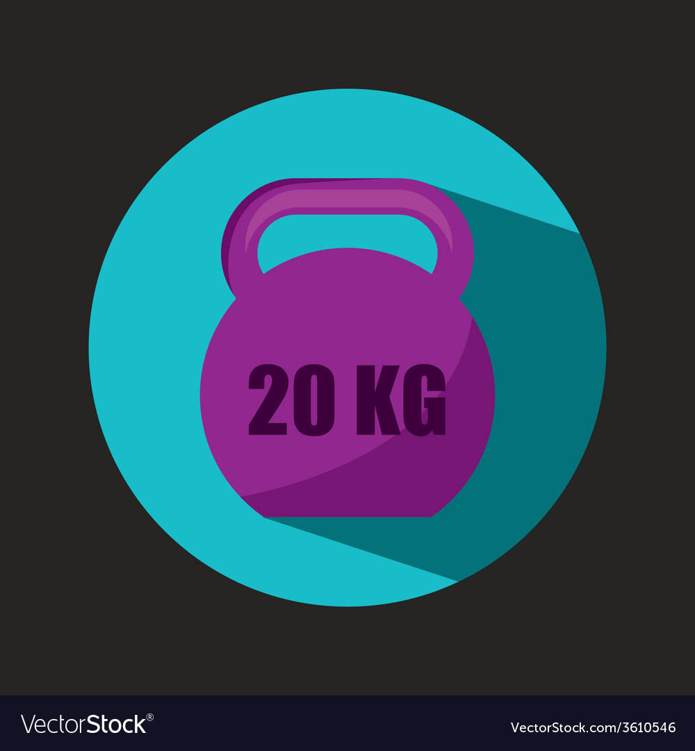 Gym icon vector   Price: 1 Credit (USD $1)