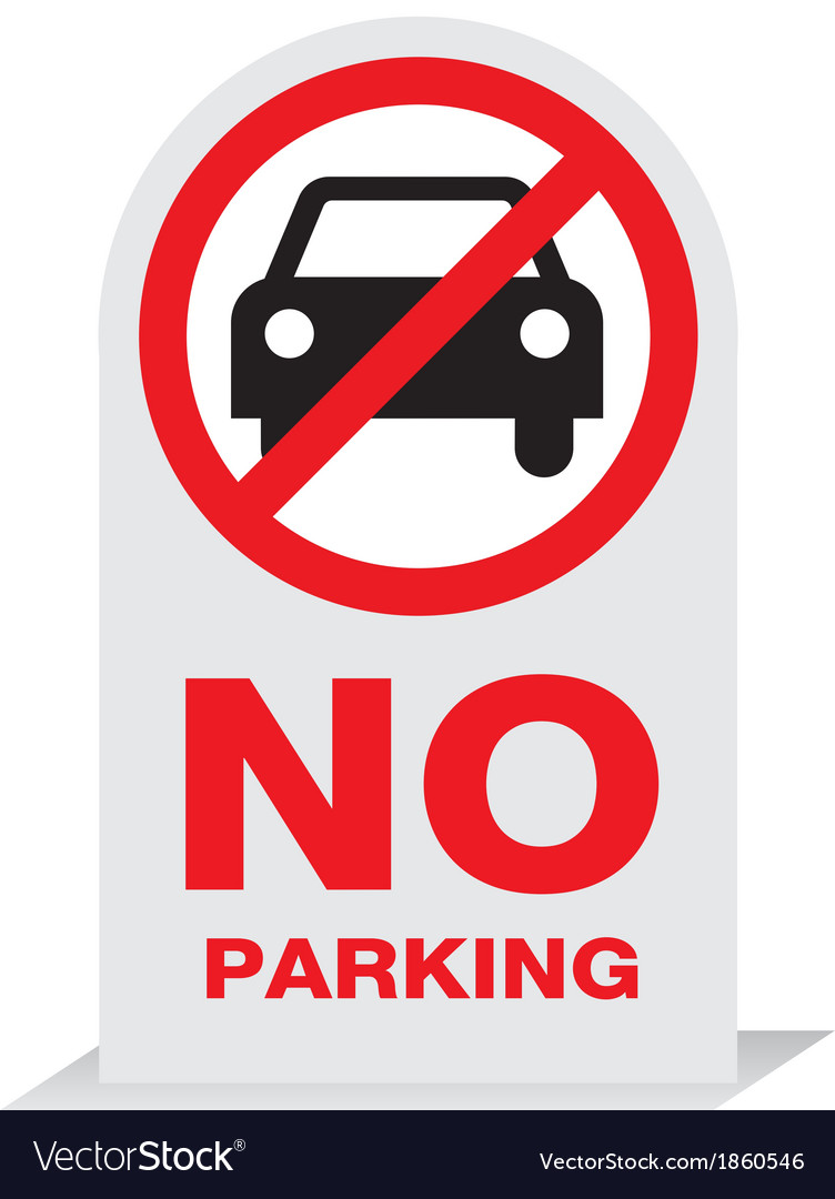 Sign on parking design vector | Price: 1 Credit (USD $1)