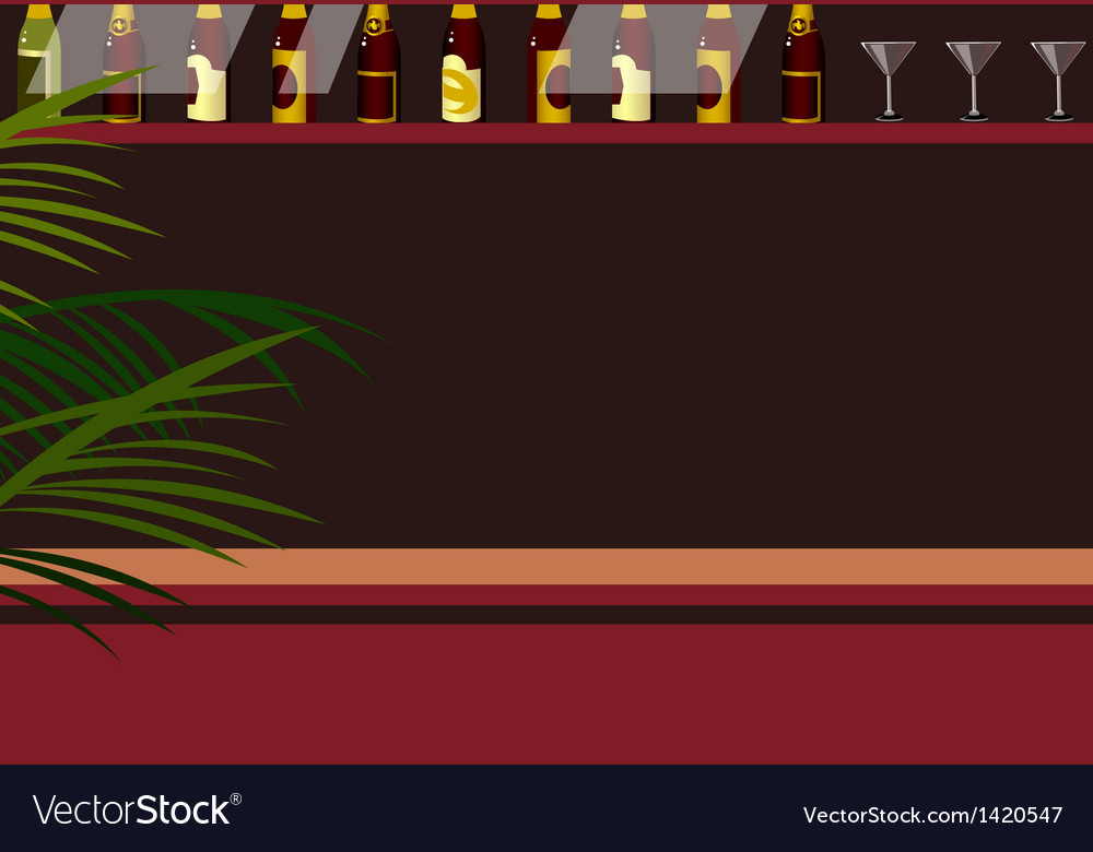 Bar background vector | Price: 1 Credit (USD $1)