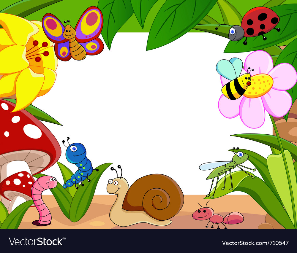 Little animals vector