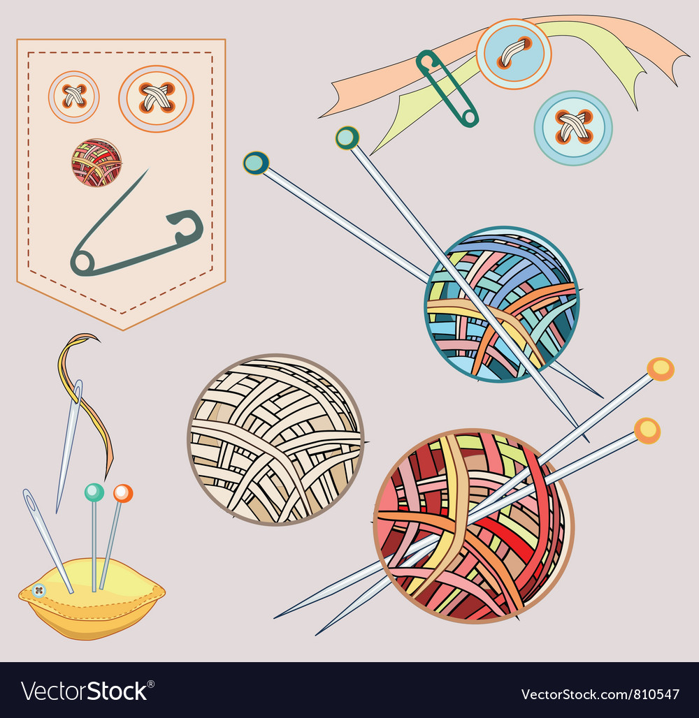 Needlework vector | Price: 1 Credit (USD $1)