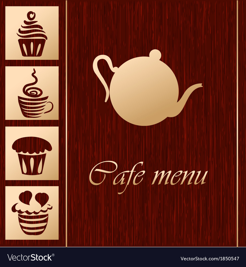 Template of coffee shop vector | Price: 1 Credit (USD $1)