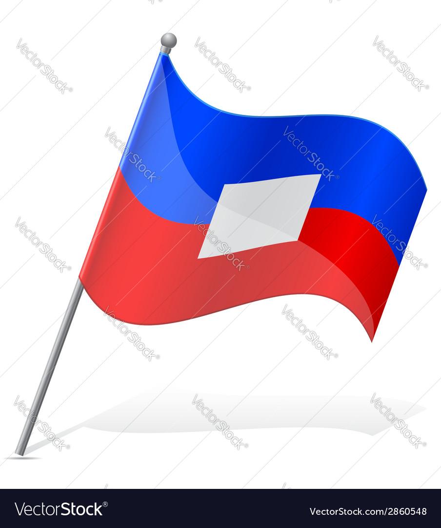 Flag of haiti vector | Price: 1 Credit (USD $1)