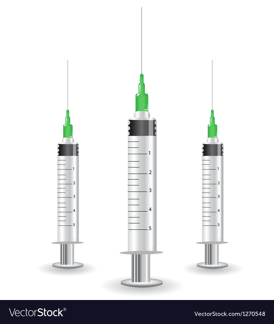 Medical needles vector | Price: 1 Credit (USD $1)