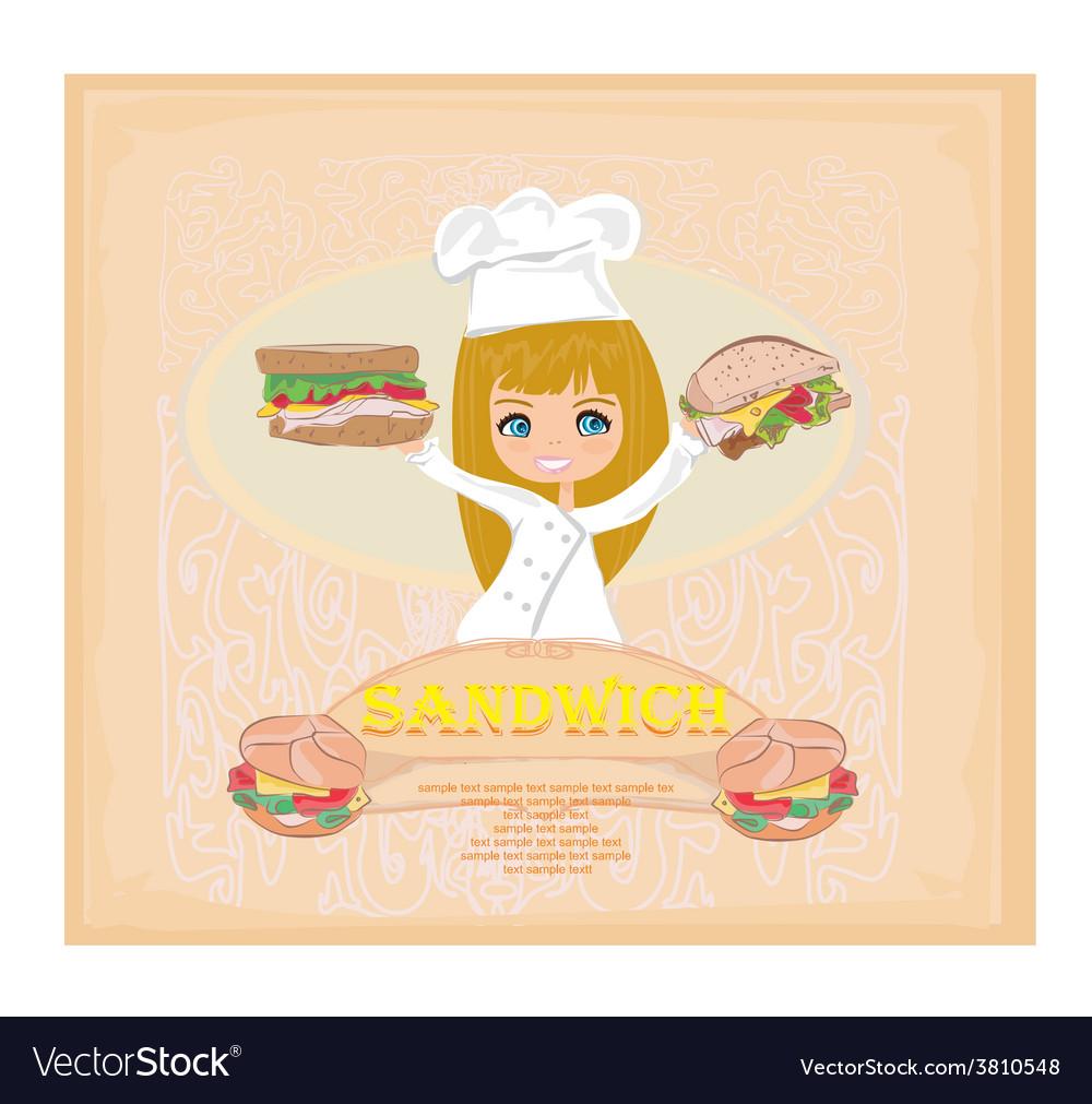 Template designs of fast food menu vector | Price: 1 Credit (USD $1)